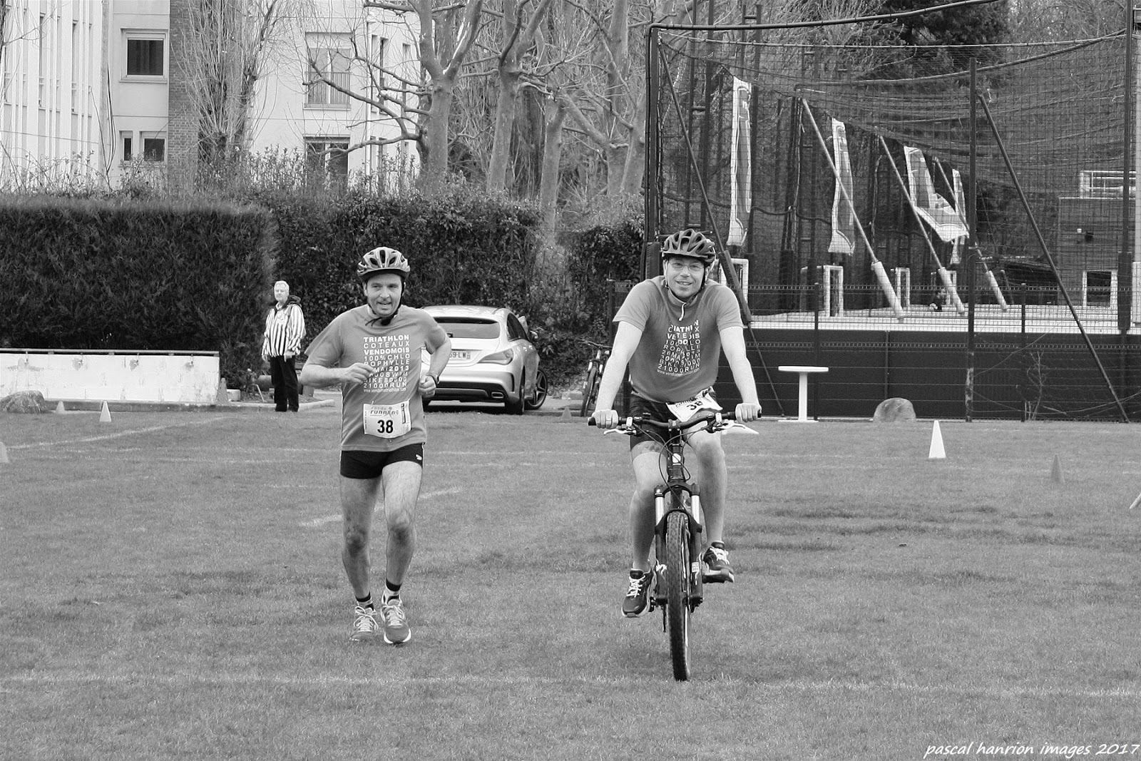 Fabien sur le Swim Bike and Run de Guyancourt !