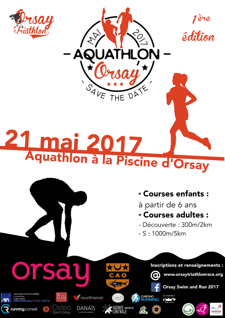 j 1 mois avant l aquathlon d orsay orsay triathlon. Black Bedroom Furniture Sets. Home Design Ideas