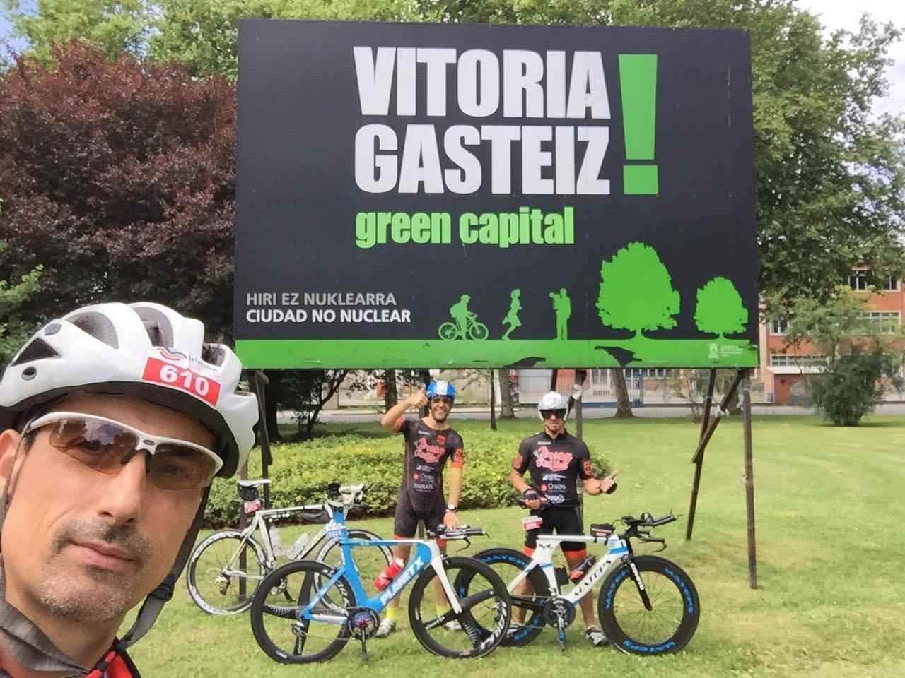 Triathlon Half et Full IM de Vitoria-Gasteiz et 321!