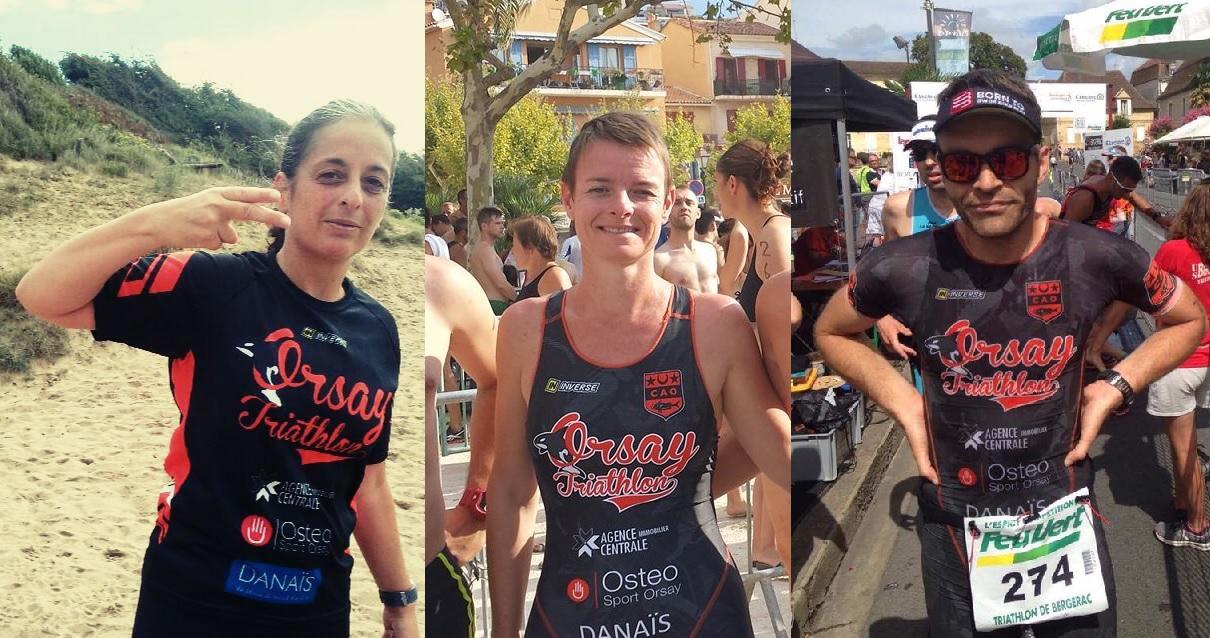Triathlon à Bergerac, course à pied à Saint-Nazaire et aquathlon au Lavandou !