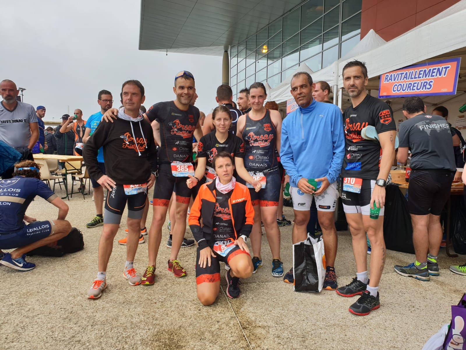 Derniers triathlons de la saison …