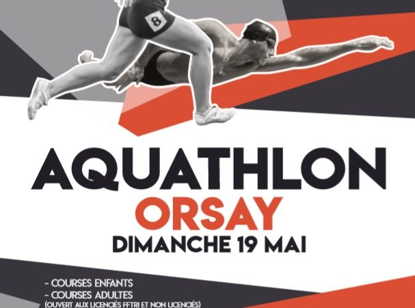 Aquathlon d'Orsay 2019 !