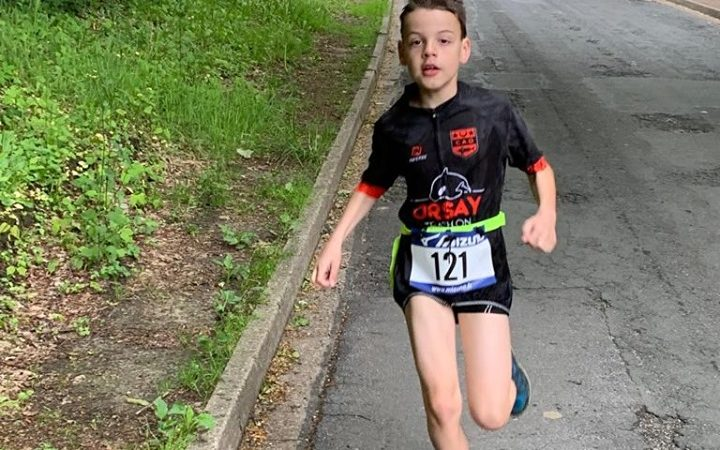 Un aquathlon d'Orsay au top !