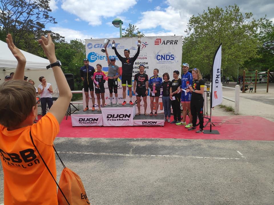Triathlons L de Belfort et de Dijon !