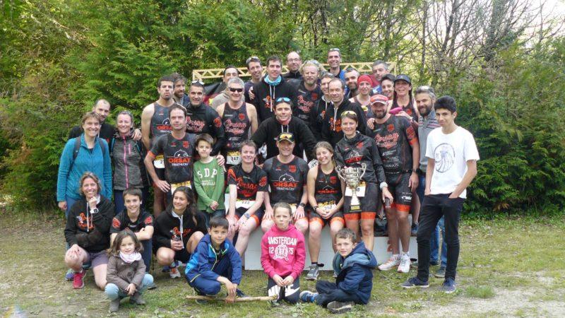 Triathlon de l'étang des bois !