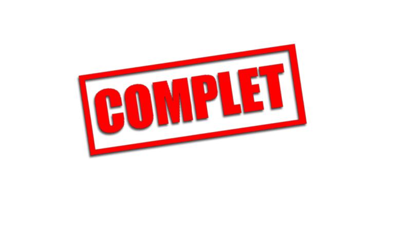 SAISON 2019/20 : COMPLET !